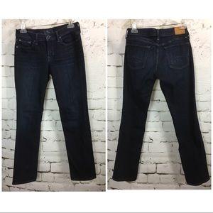 Lucky Brand SWEET STRAIGHT leg denim Womens 4 27A